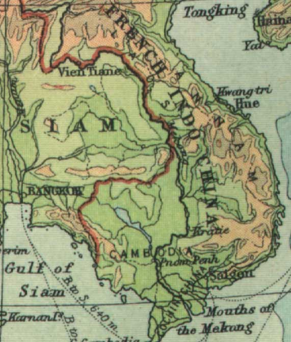 WHKMLA Historical Atlas French Indochina Page - French maps online